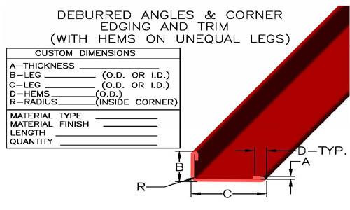 Metal Angles, Angle Irons, Stainless Steel Angle, Aluminum