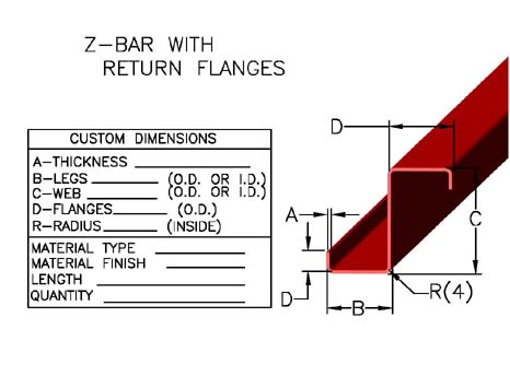 Z-Channels, Z-Bars & Purlins :: Johnson Brothers :: Metal Forming Co